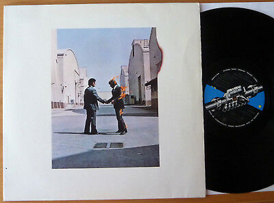 "LP PINK FLOYD "" Wish You Were Here "" German issue OIS"