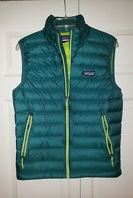 Patagonia down sweater vest mens  small therma ball