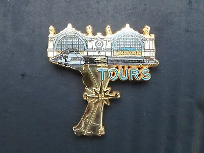 Pin's TGV, tours. ballard collection