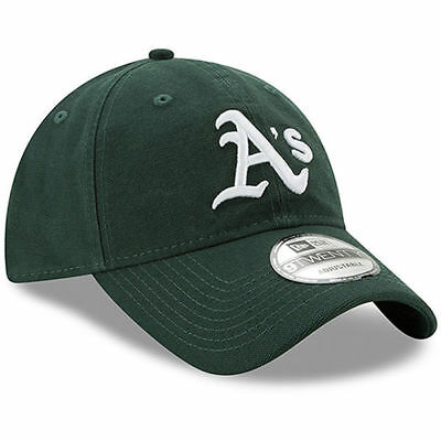 Oakland Athletics Cap MLB Baseball New Era 9twenty Cap Kappe Slouch flach