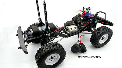 FTX Outback, ECX Barrage or RGT Rock Cruiser  tranny conversion to 540 motor