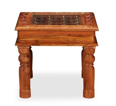 Small Vintage Coffee Table Retro Antique Furniture Solid