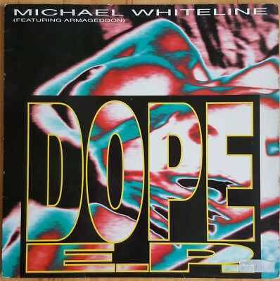 "12"" Michael Whiteline ""Dope e.p"" Hardcore/Gabber Techno; Jump Records 1993"