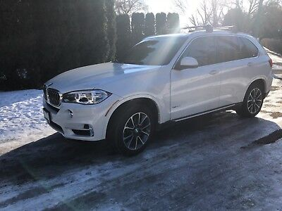 2017 BMW X5  Gorgeous X5d, 30 MPG diesel, 3rd row, loaded!