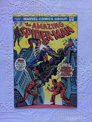 Marvel Comics Amazing Spiderman # 136 1974 VF+