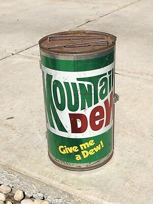 Vintage Mountain Dew Can Grill 1970's