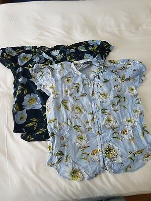 French Connection Shirt Blouse Bundle Size 12