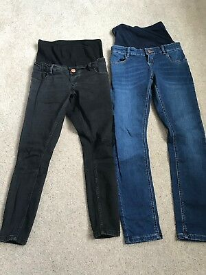 One Black And One Blue Asos Skinny Maternity Jeans 6