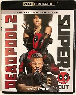 Marvel Deadpool 2 4K Ultra Hd 1 Disc Only Free World Wide Shipping Buy It Now