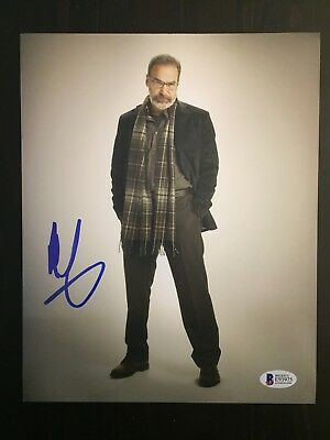 MANDY PATINKIN SIGNED AUTOGRAPHED 8x10 PHOTO - SAUL, HOMELAND - BECKETT BAS