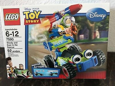 Lego Toy Story Woody And Buzz To The Rescue 7590 New And Sealed