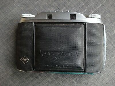 Agfa Isolette with built-in rangefinder