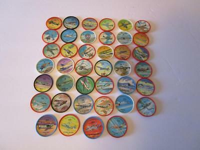 Lot of 40 Different Jello - Hostess Airplane Coins