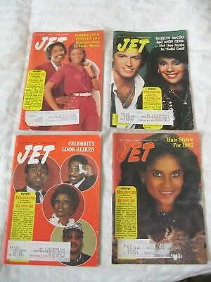 1982 JET magazines (ALL 4 Feb. '82) Yarbrough & Peoples Marilyn McCoo HIGH GRADE