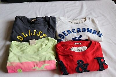 Bundle Of Mens Abercrombie And Holister T Shirts
