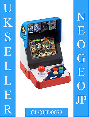 SNK NEO GEO Official NEOGEO Mini Console (40 Games Japanese Edit) NEW!  PREORDER