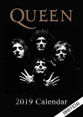 Queen Calendar 2019 Unofficial