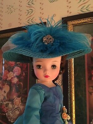 Doll Hat for Madame Alexander Cissy Doll by Richard Original 1950s Style