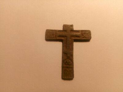 Metal detector finds. Ancient finds, ancient cross N1