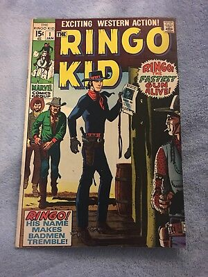 The Ringo Kid #1 January 1970 Signed By Al Williamson