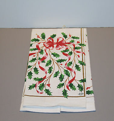 "One Holiday Hand Towel 28"" - Lenox"