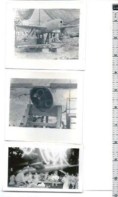 PHOTO LOT WW2 Japanese Kamikaze Suicide ROCKET OHKA & US LOON missile V-1 copy