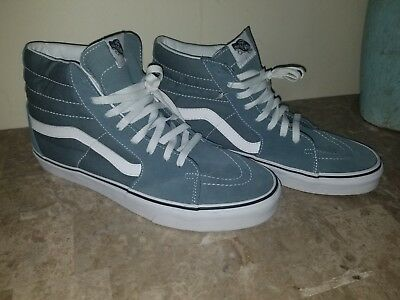 NEW VANS 106 Hi (Classic Blue true White) - Men s Skate Shoes Size ... 6f9b53a25