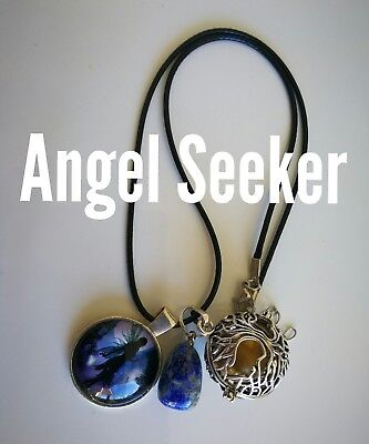 Code 473 Angel Seeker Baby Caller Musical Ball Infused Necklace Pregnancy IVF