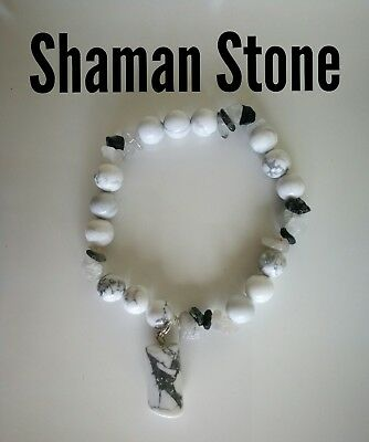 Code 804 Shaman Infused Guardian bracelet n Rutilated Quartz Angel Practitioner