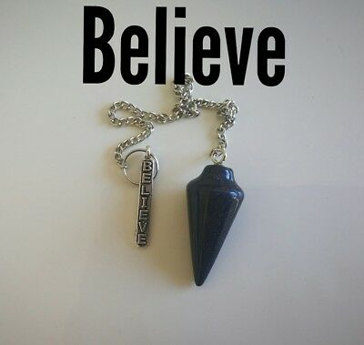 Code 858 Believe Blue sunstone Infused Pendulum Doreen virtue certified practiti