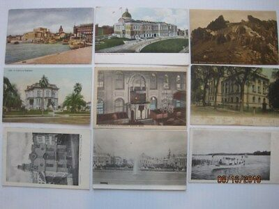 Lot of 75 antique vintage postcards. Very old, unposted & posted. Free Shipping.