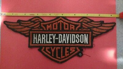 Harley Davidson motorcycle Wings patch