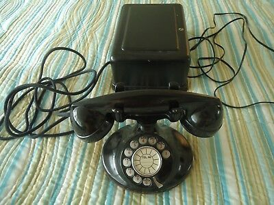 Western Electric Antique Round Telephone With Bell Box No Reserve