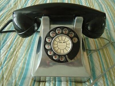 Western Electric Antique Rotary Dial Telephone No Reserve