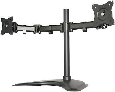 Vivo Dual Monitor Mount Stand Fully Adjule Desk Free Standing For 2 Lcd Up