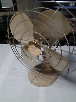 Vintage Hunter Cooling Fan Made by Robbins & Myers Model F012 WORKS! AWESOME!!