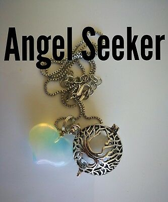 Code 513 Angel Seeker Baby Caller Musical Ball Infused Necklace Pregnancy IVF