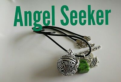 Code 888 Angel Seeker Baby Caller Musical Ball Infused Necklace Pregnancy IVF