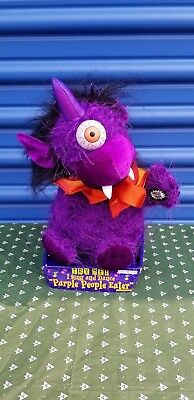 Halloween Purple People Eater Animated and Music Brand New in Box