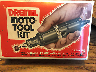Dremel New in Box, from 1980's