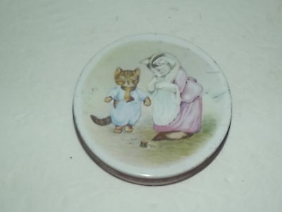 Vintage Tom Kitten Tin By Huntley & Palmers Biscuits
