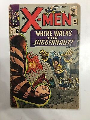 X-MEN #13 Marvel Silver Age 1965 2nd Appearance JUGGERNAUT