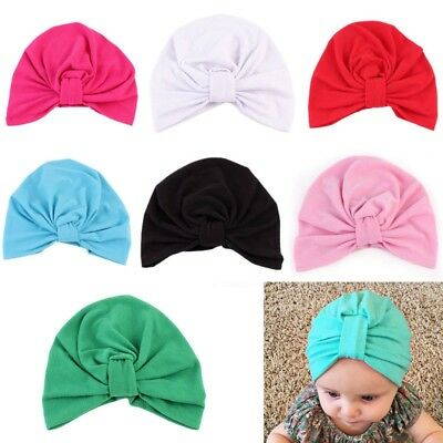 247340294db ... Cotton Stretchy Beanie Lace Up Newborn Infant Spring.