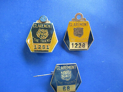 Claremont Football Club member medallions