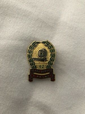 South Australian Railways (SAR) 42 Years of Service Pin