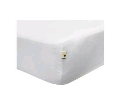 Burt's Bees Baby - Solid Fitted Crib Sheet, 100% Organic Crib Sheet for Standard