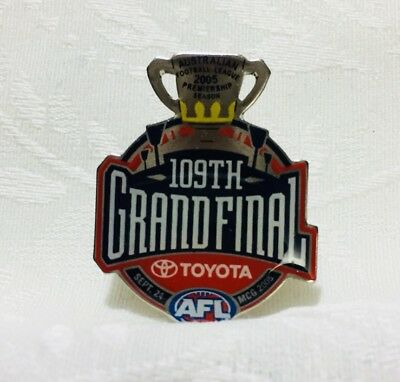 Grand Final AFL Badge 2005 - Football