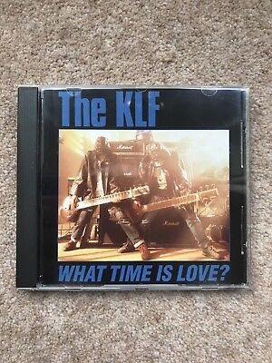 The KLF – What Time Is Love? - Maxi CD single