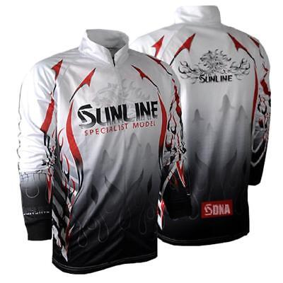Mens Fishing Shirt Clothes Breathable Long Sleeve Quick Dry Sunproof_ClothesM