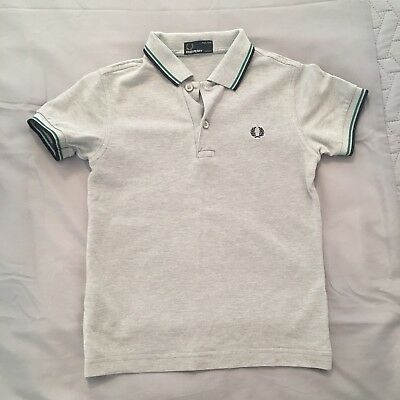 Boys Fred Perry Polo Shirt Aged 5-6